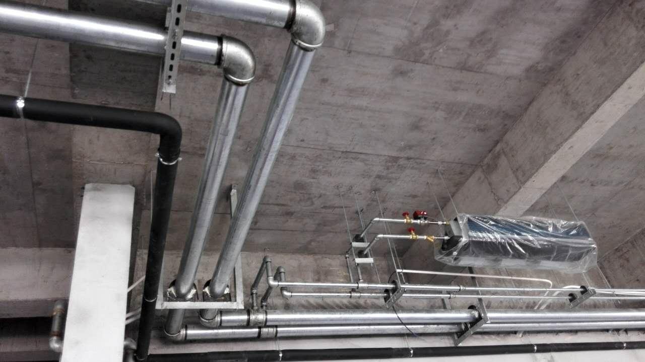 江苏泰州恒陵会所地源热泵项目施工图